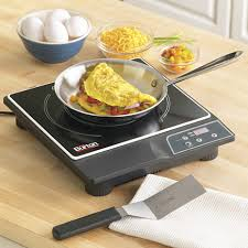 Cooker For Induction Cooktop Compact Induction Cooktop By Max Burton Is Perfect For A Small Kitchen