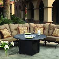 Round Sectional Patio Furniture - exterior outdoor costco sectional with decorative cushions and