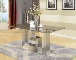 furniture modern glass dining room table modern contemporary