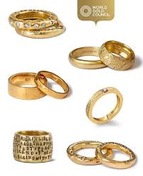 gold bands rings images Shopping for a ring say it with gold jpg