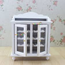 1 12 miniature picture more detailed picture about 1 12 1 12 miniature wine cabinet shelving buffet hutch wooden toys for dollhouse kitchen furniture accessories