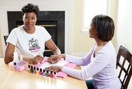 mobile nail salon how to become a nail technician