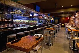 Commercial Hospitality Interior Design Of Tap Bar And Kitchen With On Tap Bar