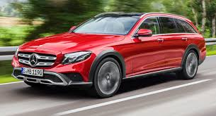 mercedes e class all terrain revealed rivals volvo v90 cross