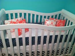 Navy Blue And White Crib Bedding by Navy Blue Crib Bedding Creative Ideas Of Baby Cribs