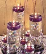 Floating Candle Centerpieces by Glass Cylinders Wedding Centerpieces Reception Table Decorations