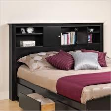 beautiful storage headboard full wood storage bookcase headboard