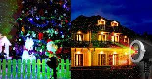 outdoor christmas laser light projector only 33 59 shipped