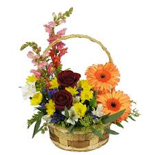 Flowers And Gift Baskets Delivery - wylie flower and gift basket full of spring same day delivery real