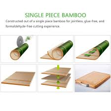 lifewit cutting board large non glue kitchen organic bamboo wood large and deep guiding gutter keeps the food liquid from leaking onto your countertop package content lifewit bamboo cutting board 1