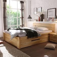 Schlafzimmer Naturholz Massivholzbett Massivholzbetten Kaufen Pharao24