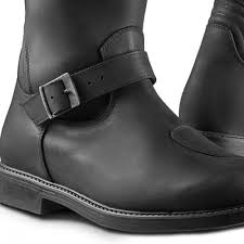 motorcycle style boots legend boots black