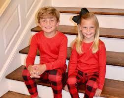 family pjs believe pajamas matching