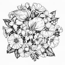 beautiful flower sketches on saydtruth crazy arts saydtruth