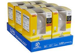 Led Light Bulbs 40 Watt Equivalent by Energetic Lighting Led Light Bulbs A19 Amazon Com