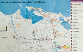 San Jose Bus Routes Map by San Juan Puerto Rico Train Map Schedule Travel Tips
