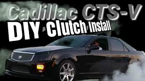 cts v clutch install ls7 kit youtube