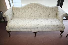 Chippendale Sofa Slipcover by How To Reupholster A Queen Anne Sofa Ebay