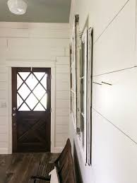Hanging Pictures On Drywall by How To Hang Layered Vintage Windows Easy Farmhouse Decor Diy