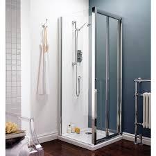 premier pacific bi fold shower door 1100mm