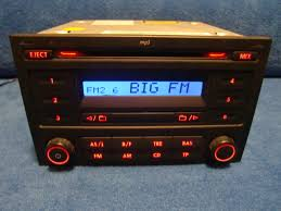 vw rcd 200 mp3 radio autoradio carradio car 6q0035152c http