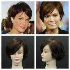 short hairstyles as seen from behind mandy moore pixie haircut inspired tutorial youtube