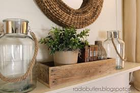 the butlers mini mantel makeover