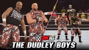 wwe 2k16 the dudley boys entrance finisher u0026 titantron mod pc