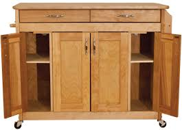 Catskill Kitchen Island by Catskill Craftsmen Butcher Block Island With Flat Panel Doors