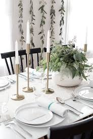 Minimalist Table by Chic Minimalist Thanksgiving Table Decor That Doesn U0027t Look Like