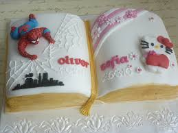 spiderman and hello kitty christening cake cakecentral com