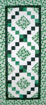 st patrick s day table runner 37 best st patrick s day sewing images on pinterest sewing ideas