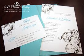 Scroll Invitation Cards Flat Wedding Invitation U2013 A Vibrant Wedding