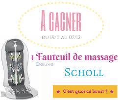 Fauteuil Massant Scholl Id Mission Détente Avec Le Fauteuil De Scholl Concours