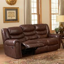 leather italia usa kyle power reclining sofa with rolled arms