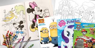 coloring books kids party