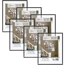 Walmart Floor Plan Mainstays 8x10 Float Picture Frame Set Of 6 Walmart Com