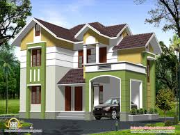 11 2 story house elevation two house plans in kerala nice design