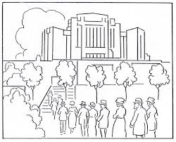 temple coloring page keepapitchinin the mormon history blog mormon history coloring