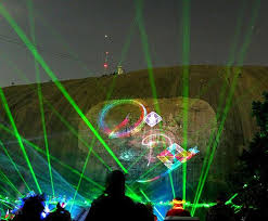 stone mountain laser light show laser show at stone mountain state park in georgia places with