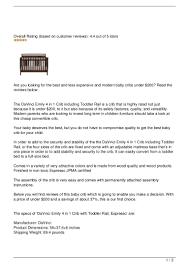 Cheap Convertible Cribs by Cheap Convertible Baby Crib U0026 8211 The Davinci Emily 4 In 1 Crib