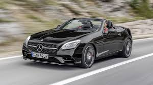 convertible mercedes 2017 2017 mercedes amg slc43 review top speed