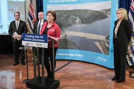 Christy Clark Cabinet Justice Minister Courts Won U0027t Derail Site C Christy Clark Says