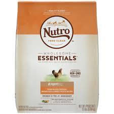 nutro wholesome essentials farm raised chicken brown rice u0026 sweet