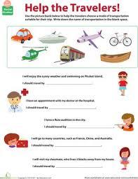 14 best transportes images on pinterest kindergarten worksheets
