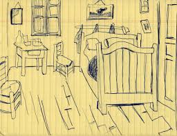 vincent van gogh bedroom sketch of van gogh s bedroom vincent van gogh 1888 meditation on