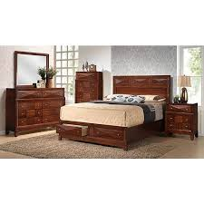 Sears Platform Bed 55101 840 Queen Bed Drawers Kingsbury Sears Outlet