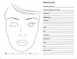 Stage Makeup Classes 10 Blank Face Chart Templates Male Face Charts And Female Face
