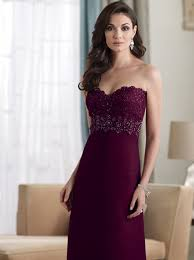 burgundy elegant dress for mother of the bride lace dresses with