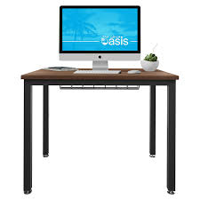 Minimalist Work Desk Computer Desk Amazon Com